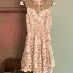 NWT Charlotte Russe White Dress